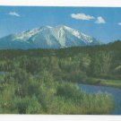 CO Mount Sophis Crystal River Vtg Colorado Postcard