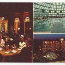 Hotel America Washington DC Multiview Domed Swimming Pool Vtg Postcard