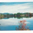 New England Fall Landscape Vintage Postcard