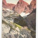 Italian Alps Tirol Rosengartengruppe Vintage Postcard