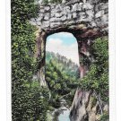 VA Natural Bridge Blue Ridge Mountains Vintage Postcard E C Kropp