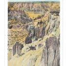 WY Hells Half Acre Wyoming Parial View Vintage Postcard