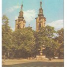 Serbia Sremski Karlovci Cathedral Church St Nicholas Vintage Postcard