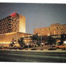 Marriott Atlanta GA Hotel Motel Night View Vintage Postcard