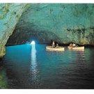 Italy Capri Blue Grotto Sea Cave Vintage Postcard 4X6