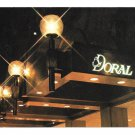 New York Doral Inn Manhattan Hotel Night View Vtg Postcard 4X6 NY