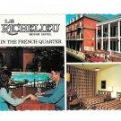 LA New Orleans Richelieu Motor Hotel Motel Multiview Vtg Postcard 4X6