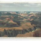 AZ Grand Canyon National Park Cloud Shadows Hopi Point Vtg Fred Harvey Postcard