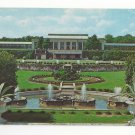 PA Kennett Square Longwood Gardens Main Conservatory Fountains Vtg Postcard