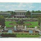 PA Kennett Square Longwood Gardens Main Conservatory Fountains Vtg Postcard