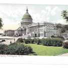 Washington DC The Capitol Vtg UDB Postcard ca 1905