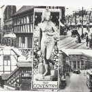 UK Old Coventry Great Britain RPPC Multiview Vintage 1962 Real Photo Postcard