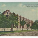 San Gabriel Mission California Western Publishing Novelty ca 1910 Postcard