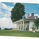VA Mount Vernon East Front George Washington's Home Vintage Postcard