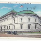 Washington DC Corcoran Art Gallery Vtg Postcard 1937