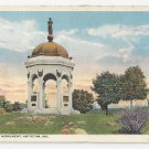 MD Antietam Maryland Monument Vintage Curteich Postcard