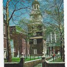 Philadelphia PA Independence Hall Side Entrance c1970s Mike Roberts Postcard 4X6
