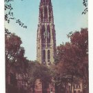 CT New Haven Yale University Harkness Memorial Tower Vtg Postcard