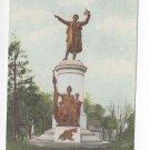 MD Frederick Mt Olivet Cemetery Francis Scott Key Grave Monument Vtg Postcard
