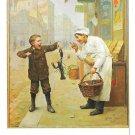 I Told You So C. Moreau Haussner's Restaurant Baltimore MD Vtg Art Postcard