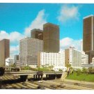 Los Angeles Hilton Hotel Freeway Vintage California Postcard