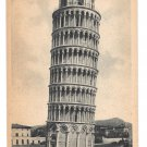 Italy Pisa Il Camponile Leaning Tower Vtg Cesare Capella Postcard