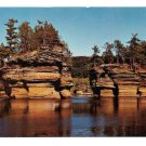 WI Sugar Bowl Lower Dells Vintage Wisconsin Postcard