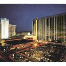 Las Vegas NV MGM Grand Hotel Night View Vintage Postcard