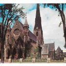 Canada Montreal Christ Church Vtg Postcard