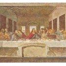 Leonardo Da Vinci Last Supper Millan Vtg Art Postcard