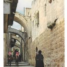 Israel Jerusalem Via Dolorosa Vtg 1976 Postcard 4X6