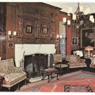 DuPont Estate Nemours Library Wilmington DE Vtg Postcard