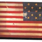 Fort McHenry American Flag Baltimore MD Vtg Postcard 4X6