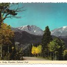 CO Mt Ypsilon Rocky Mountain National Park Vtg Postcard 4X6