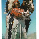 MN Stanchfield Western Indian Maiden Native American Woman w Horse Vtg Postcard