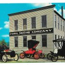 Ford Factory Replica Model A Greenfield Village Dearborn MI Vtg Postcard