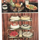 NY Elmira Heights Pierces's Restaurant Pastry Cart Cake Vtg Postcard