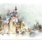 Disneyland Sleeping Beauty Castle Hallmark PDL 14 Vtg Postcard 4X6