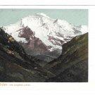 Switzerland Alps Interlaken Die Jungfrau Vintage UDB Postcard