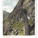 Switzerland Alps Pilatusbahn Train Mount Pilatus Vintage Postcard