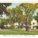 Williamstown MA Williams Inn Treadway Vtg Postcard