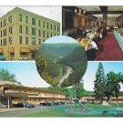 Penn-Wells Motel Hotel Wellsboro PA Multiview Vtg Postcard
