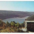 Kinzua Dam from Jake's Rock Warren PA Vintage Postcard