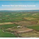 Gettysburg Eisenhower Farm Aerial View Vintage Mike Roberts Postcard