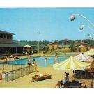 Williamsburg VA Motor House Pool Vintage Motel Hotel Postcard