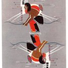 Onandaga Painting Tom Two Arrows American Indian New York Museum Vintage Postcard