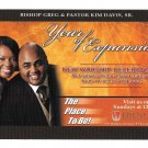 Religion Downingtown PA Ebenezer Full Gospel Baptist Church Advertising Card