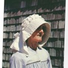 Saint Barthelemy St. Barth Barts Woman Wearing Caleche Hat Vtg 4X6 Postcard