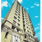 CA Los Angeles Mayflower Hotel Grand Avenue Vintage Mike Roberts Postcard
