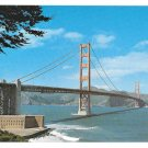 CA San Francisco Golden Gate Bridge Postcard Tom Tracy Photo